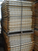 "Used Wire Decking 42"" X 46"" Out Side Water Fall  DOWFBB42-46-3"