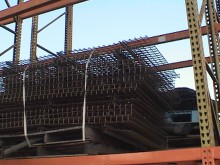 "48""x70"" Inside Flush Back Stop Wire Mesh Decking"